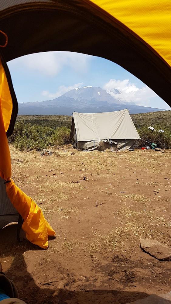 Zeltplatz mit Aussicht