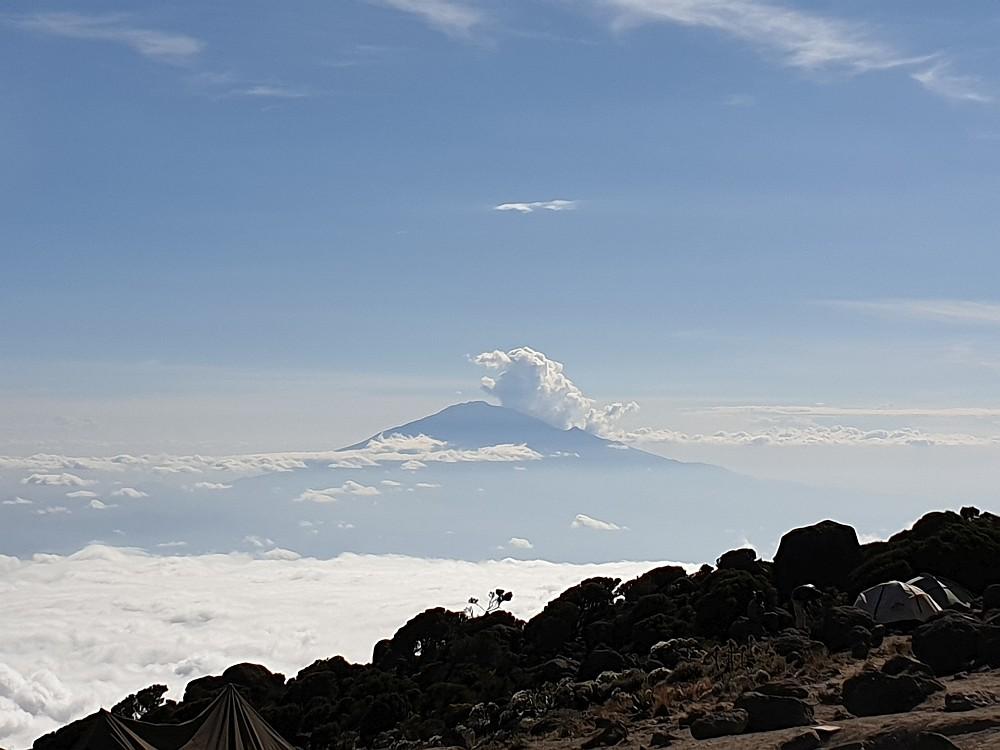 Phantastischer Blick zum Mount Meru