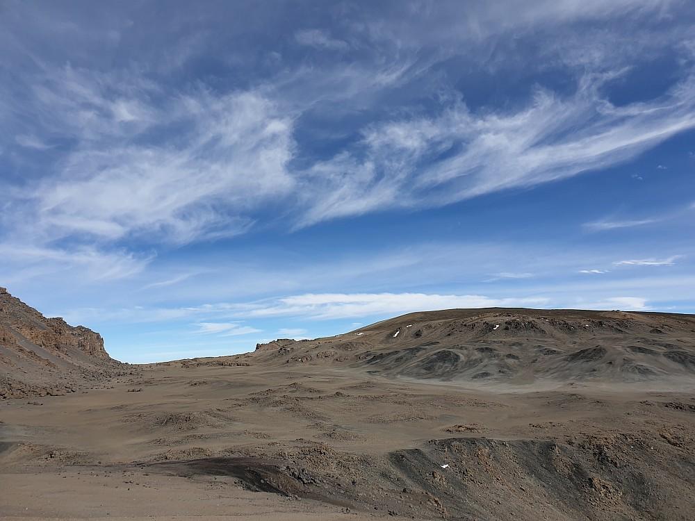 Blick in den Kili-Krater